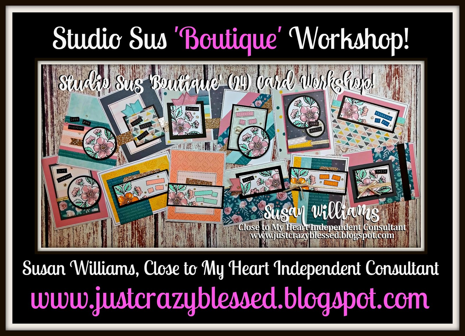'Boutique' Cardmaking Workshop!