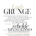 Lady Grunge