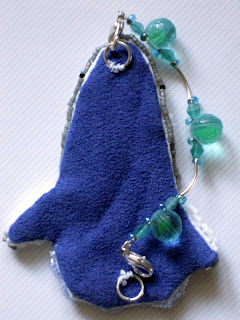 Bead Journal Project January 2013 - Great White Air Jaws back