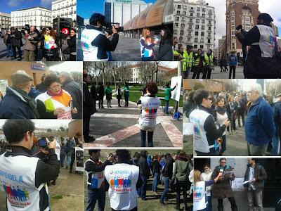 """Trabajadores de TMEX en """"La Uni en la Calle"""" el 9 de marzo de 2013"""