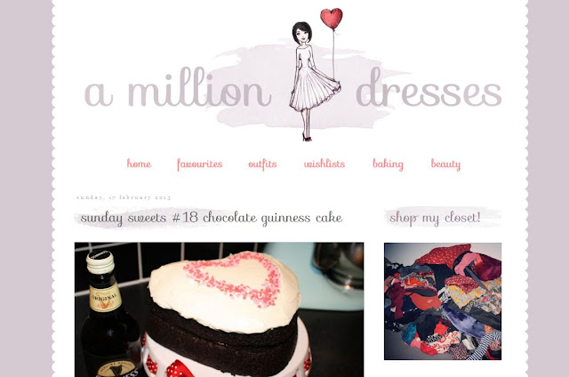 A Million Dresses blog