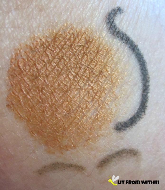 OFRA Golden Sparkle, Mica Beauty gel 'pen' and Vincent Longo Everbrow Micro Pencil