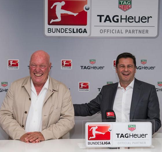 Tag Heuer partner Bundesliga