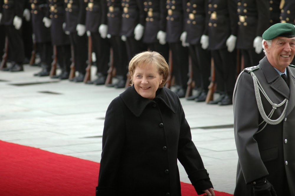 Rare guest of honor: Angela Merkel pays state visit to Germany