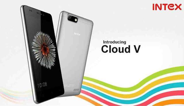 Intex Cloud V Smartphone Just Rs.3999/-