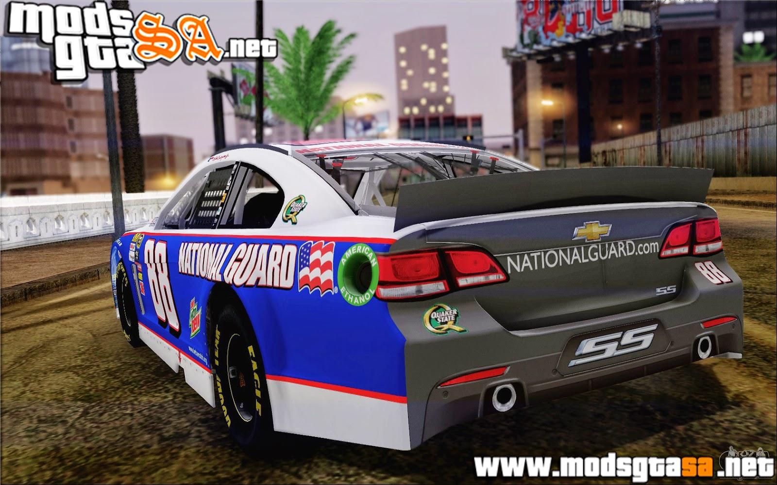 SA - Chevrolet SS NASCAR Sprint Cup 2013