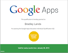 Google Apps Education Qualified Individual