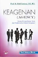 toko buku rahma: buku KEAGENAN (AGENCY), pengarang budi santoso, penerbit ghalia indonesia
