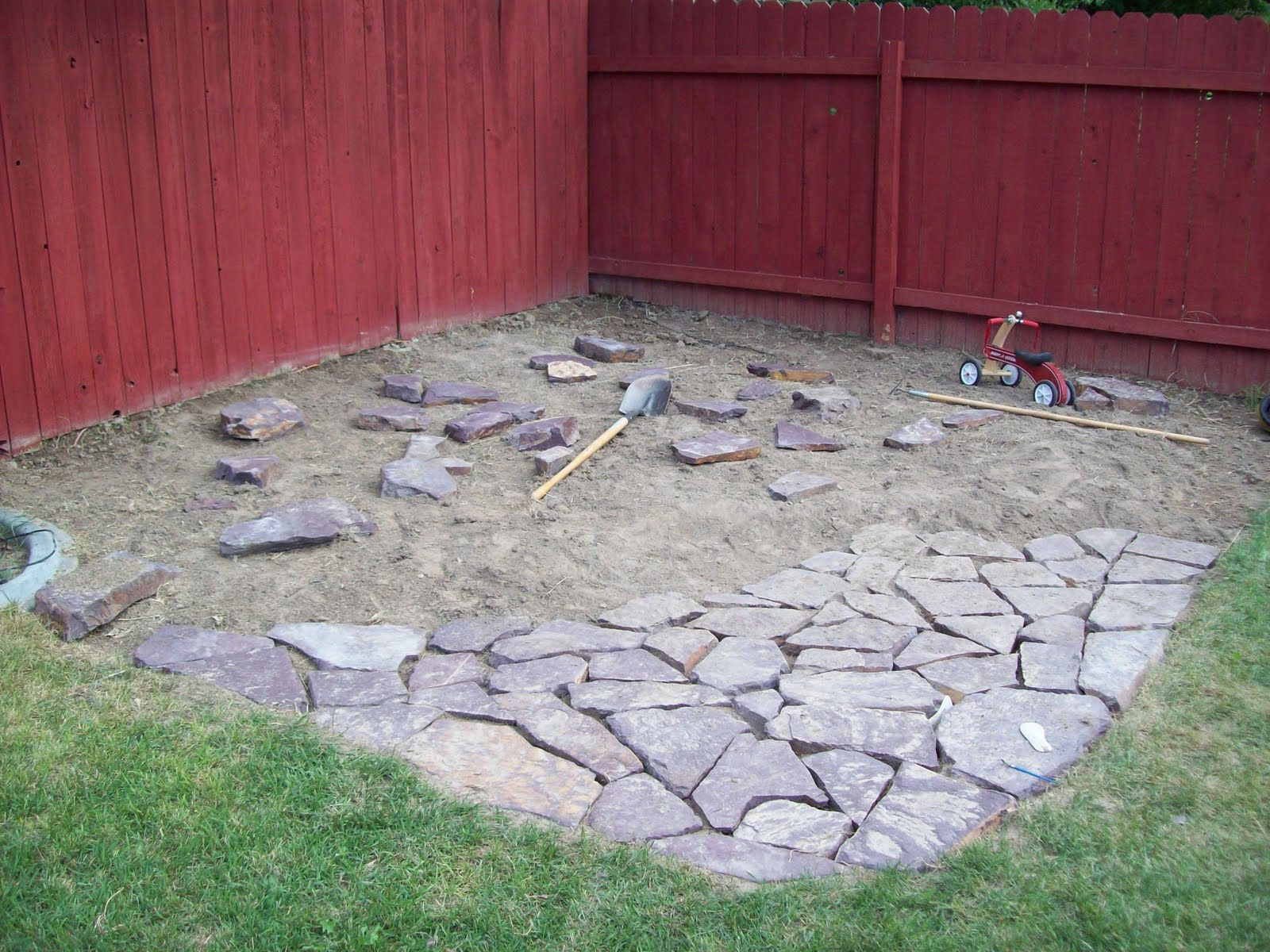 Nightmare Project: Natural Stone Patio