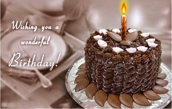 Birthday Wishes On Cake   Birthday Wishes