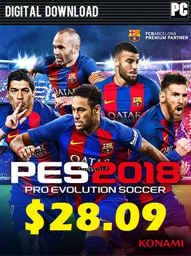 Pro Evolution Soccer 2018 PC - Premium Edition