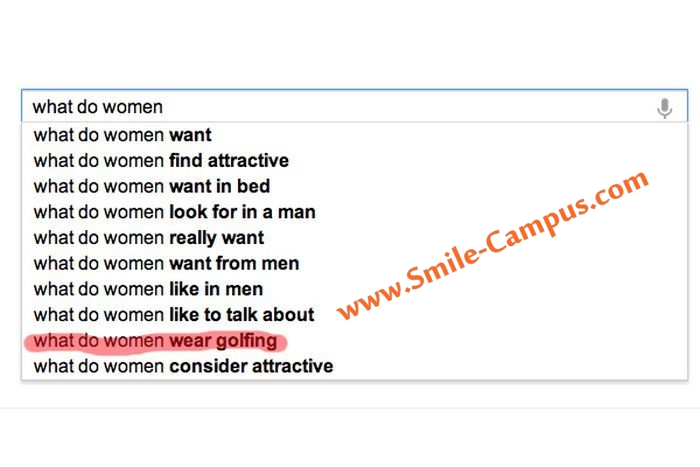 Funny Google Suggestions On Women