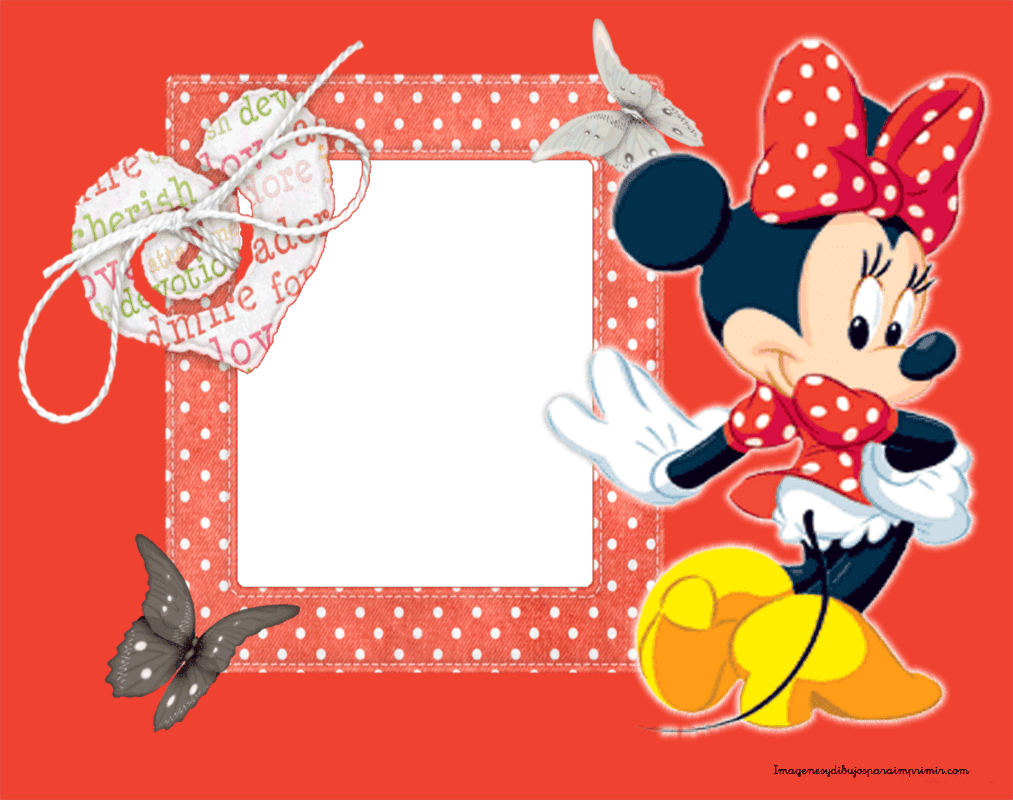 Marcos para fotos con minnie mouse imagenes y dibujos - Marco de fotos ...