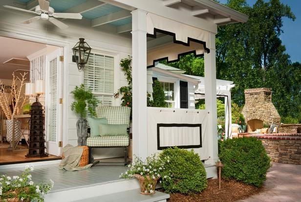 Desain Teras Rumah Modern Mewah Warna Putih