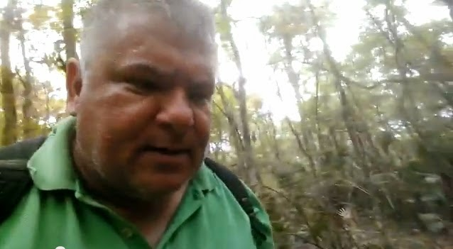 Tim Fasano searches for Skunk Ape