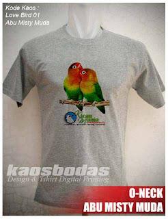 Kaos Lovebird 01