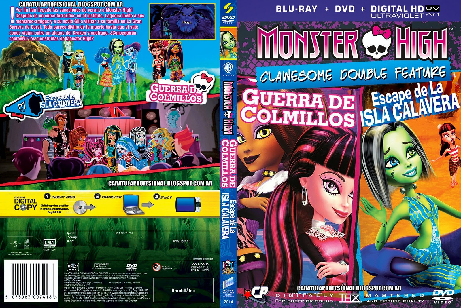 Monster High Clawesome Double Feature DVDRip XviD Dublado iqG1VtUkLW4qg