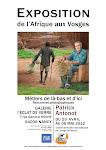 """Exposition """"De l'afrique aux Vosges """""""
