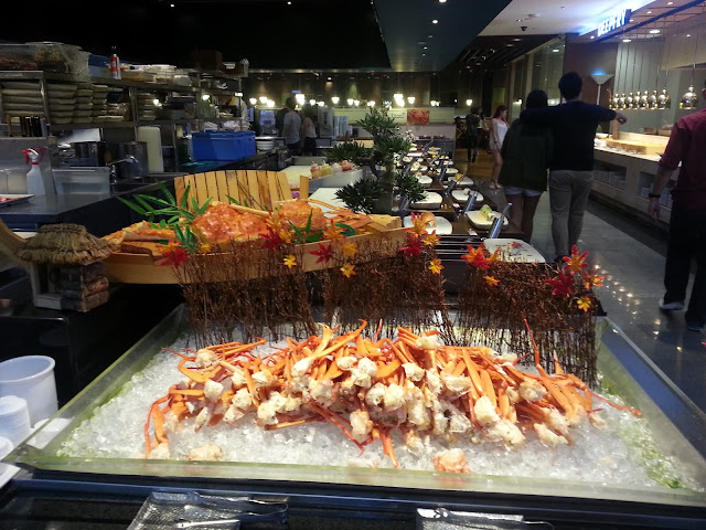 todai restaurant buffet alaska crab