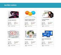 materi kursus online sekolah pintar
