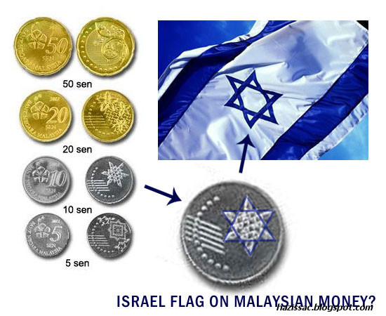 image 1 [Gambar] Lambang Israel Pada Duit Syiling Baru Malaysia?