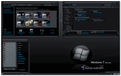 Theme Windows 7 Black Edition