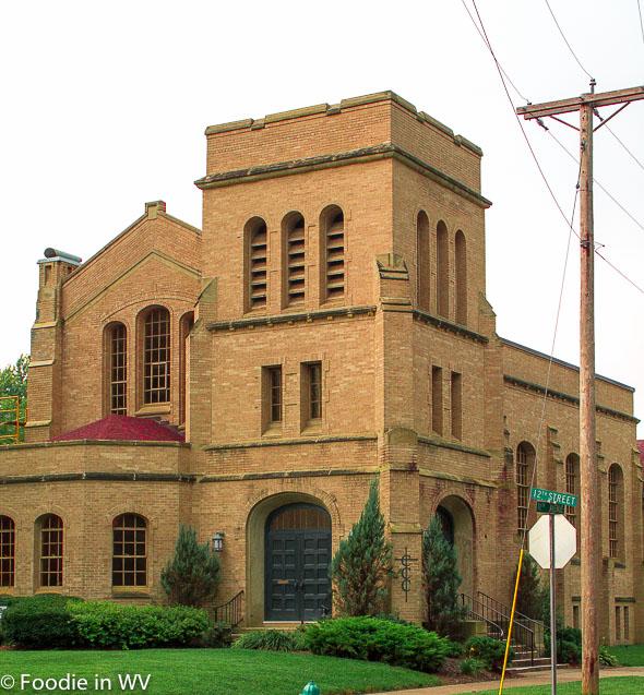 Church in the Southside Neighborhood of Huntington, WV