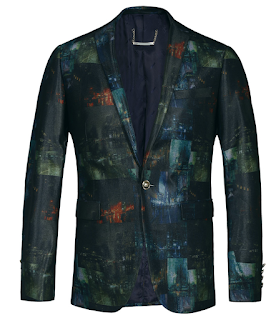 Luxury Mystery Graphical Modern Artistic Blazer At PerfectMensBlazers.Com
