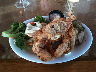 Dockside Restaurant and Marina Soft Shell Crab Special