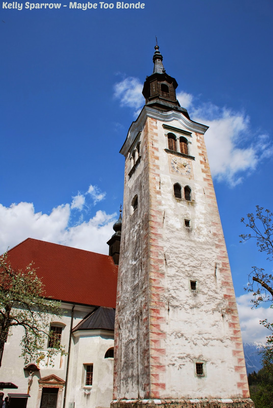 Bell Tower Bled Island Slovenia