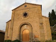 La façana de llevant de Sant Joan de Vilada