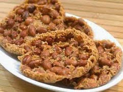 resep praktis dan mudah membuat (membikin) makanan ringan rempeyek kacang gurih, renyah lezat