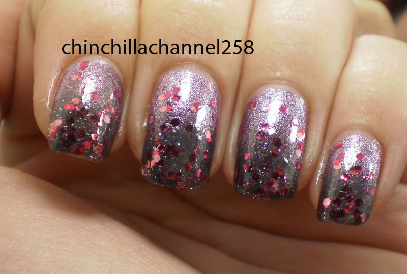 Cookingchinchillas Easy Fade Effect Gradient Nail Art Design