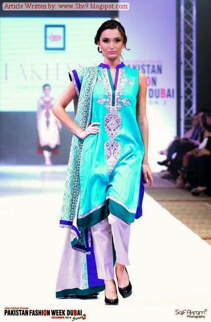 LSF-Lakhany Silk Mill at Pakistan Fashion Week Dubai 2014