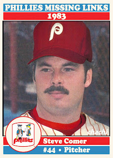 Phillies Missing Links of the 1980s – #6 Steve Comer