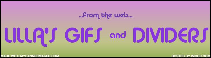lilla's  Gifs & Dividers