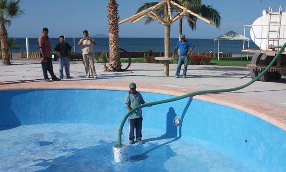 Hypool primer llenado de alberca - Como se hace una piscina ...