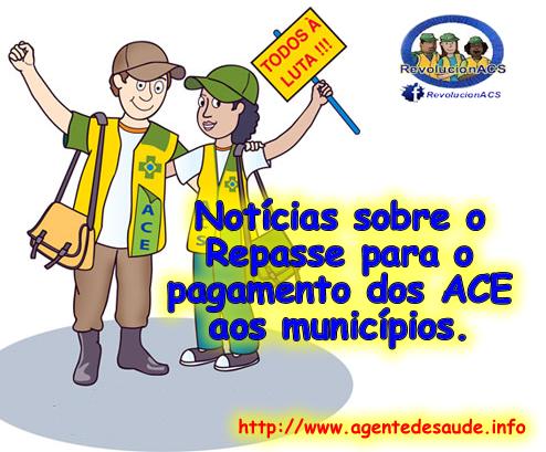 repasse verba ace Saiba como o seu município receberá a verba para o pagamento dos Agentes de Combate a Endemias (ACE)