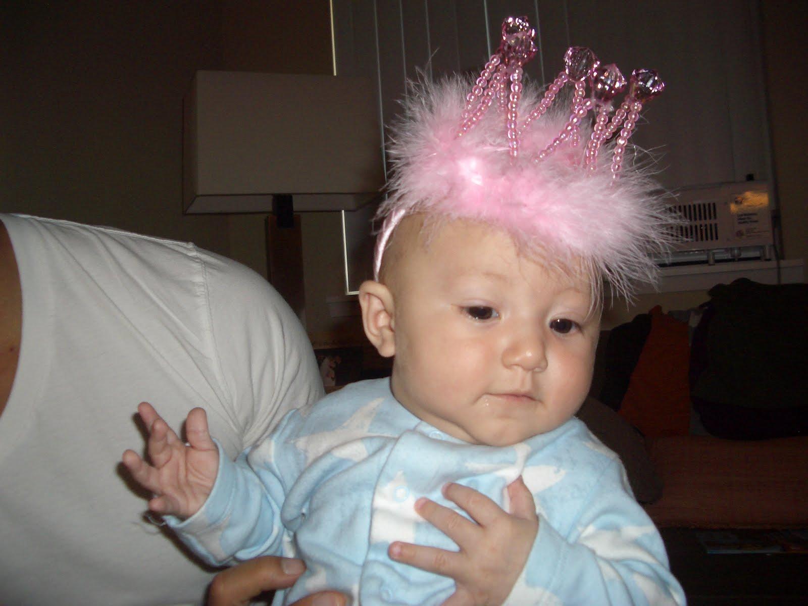 Unspiked Mohawk Looking so fancy in a crown