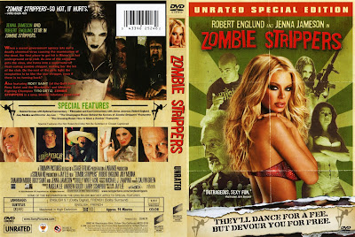 Zombie Strippers DVD Capa