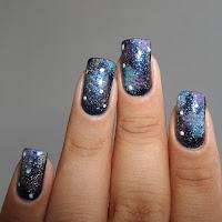 Unha Decorada - Galáxia