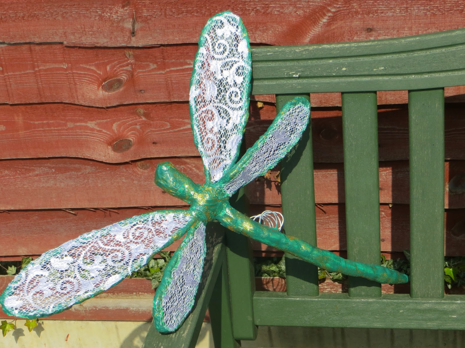 Hand made dragonfly