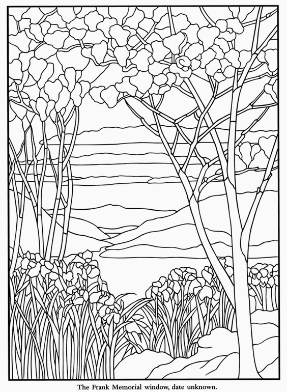 Free coloring pages of famous art for Pages for windows