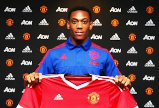 Manchester United Resmi Rekrut Anthony Martial