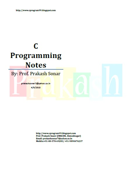 Programming books c pdf tutorial