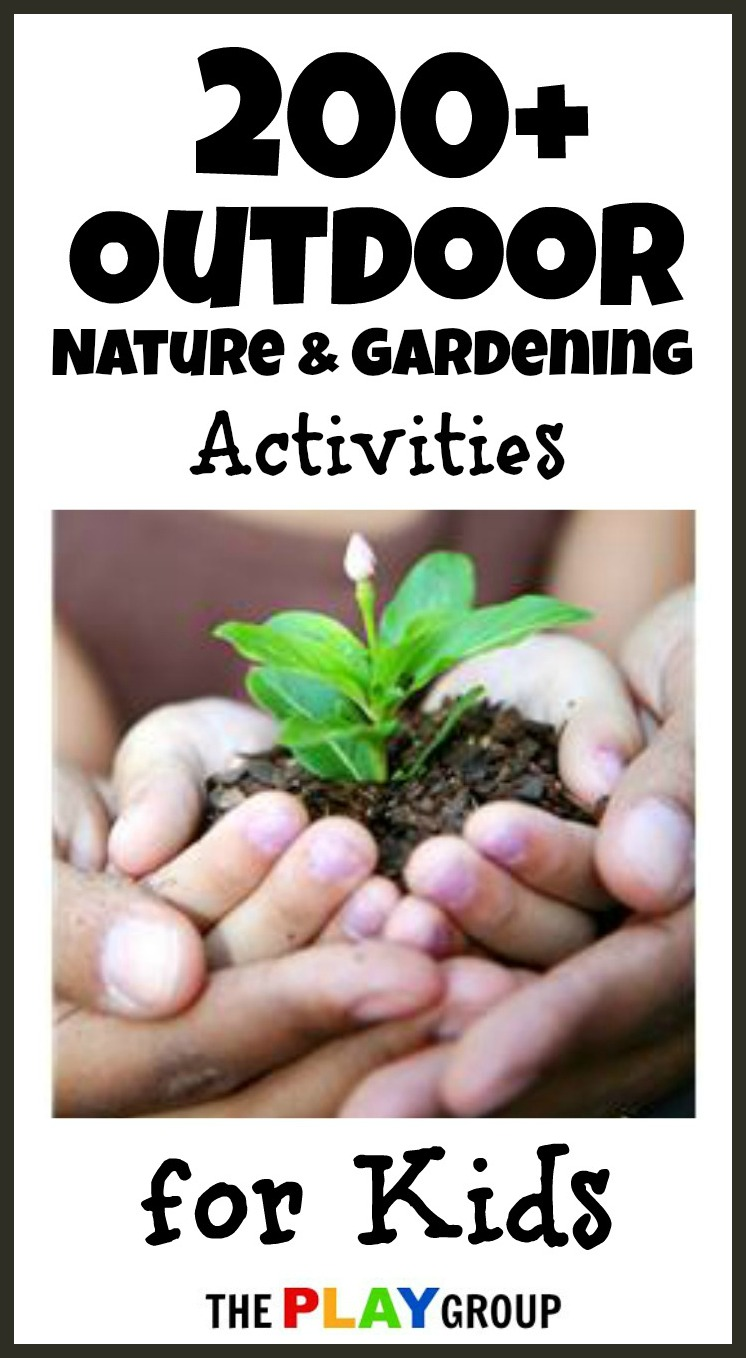 Outdoor nature gardening activities growing a jeweled rose for Garden activities for toddlers