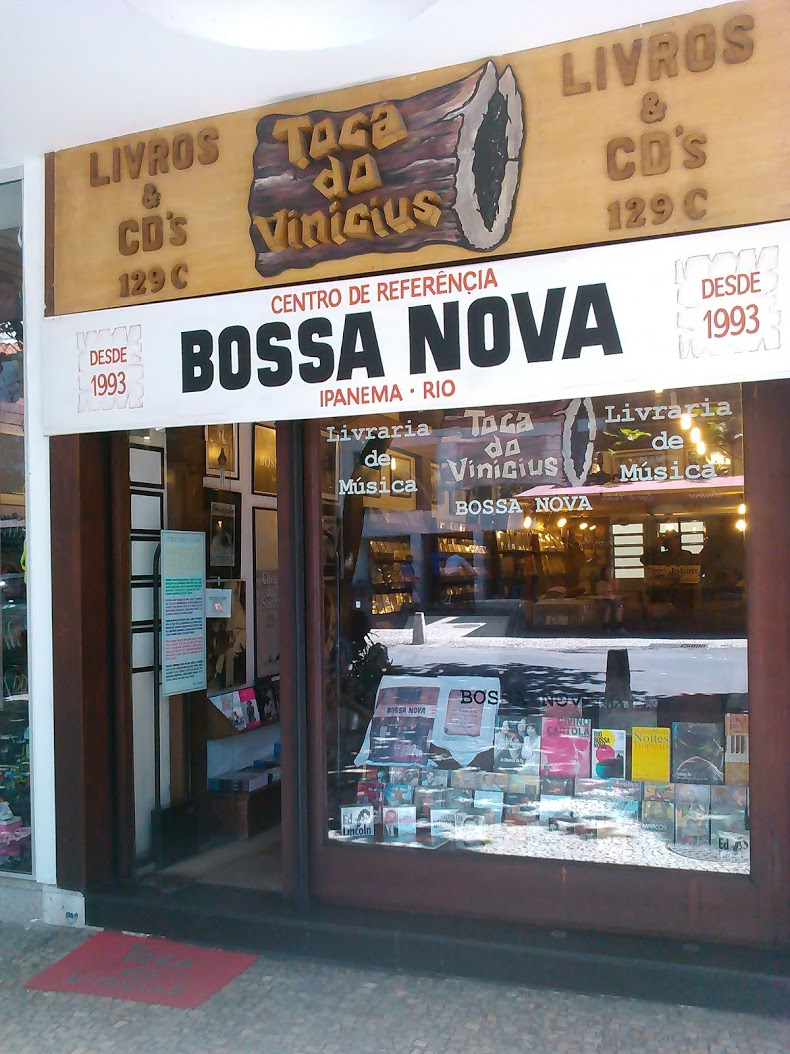 d975e05063c Tienda de musica en Ipanema   TOCA DE VINICIUS