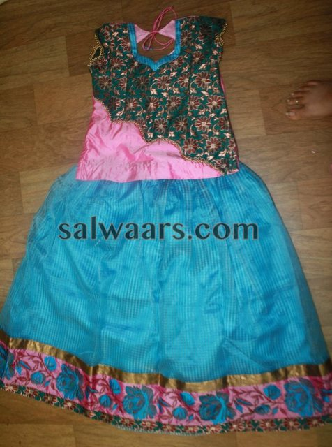 Kids lehenga for 6 Years Old