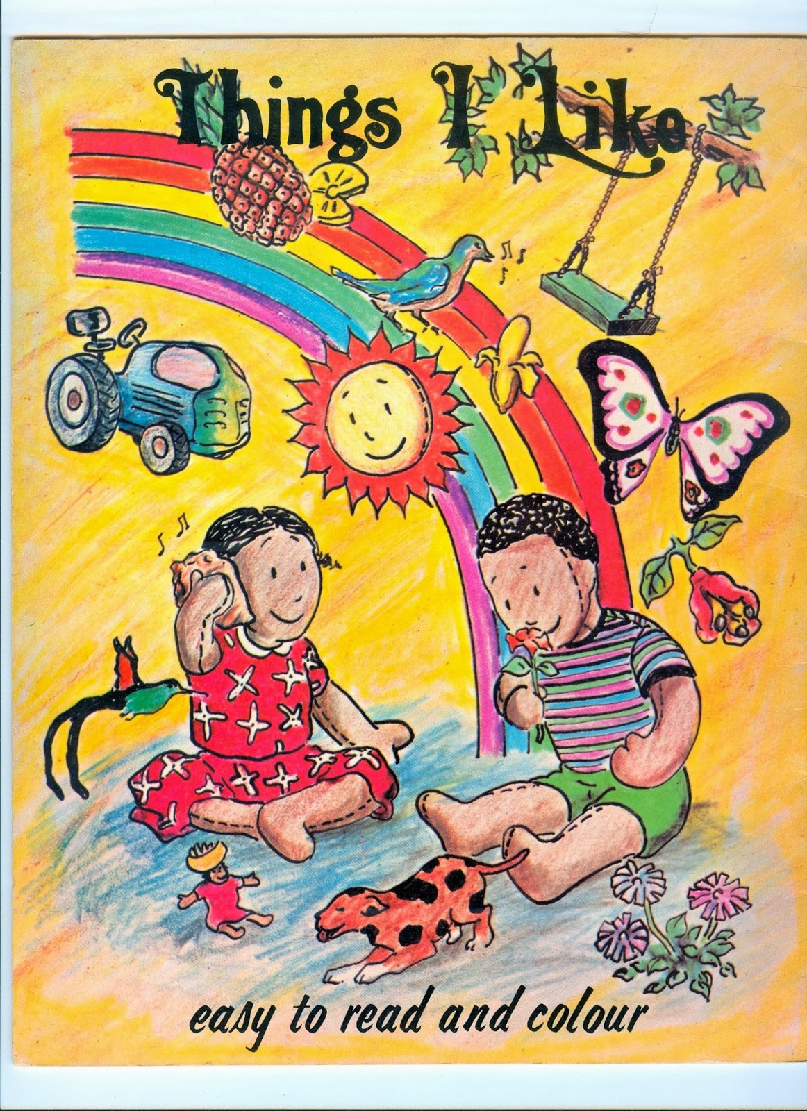Colour childrens literature -  The Second With The Elements Of The Picture Outlined In Black Because I Saw Somewhere That Illustrations For Children S Books Should Could Be Outlined