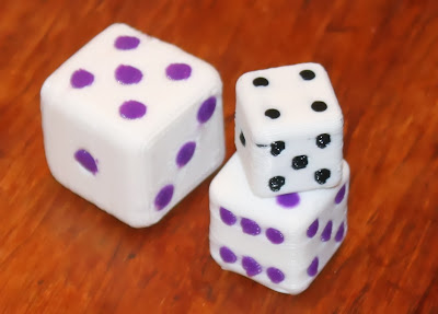 Dual Extrusion dice on the Lasercut Mendel90